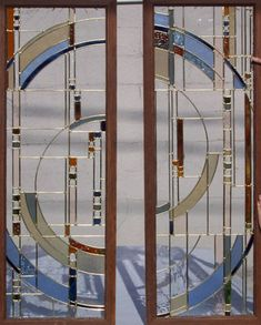 French Doors | The Vinery Glass Studio for all your stained glass, lampworking ... Stained Glass Studio, Modern Stained Glass, Stained Glass Door, Glass Panel Door, Stained Glass Designs, Stained Glass Patterns, Leaded Glass, Beveled Glass, Mosaic Glass