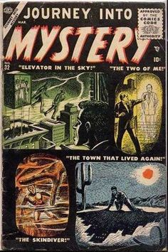 Journey into Mystery #32 - Elevator In The Sky! (Issue)