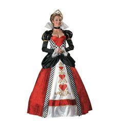Queen Of Broken Hearts Halloween Costume for Women - Large