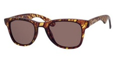 Carrera 6000/S Sunglasses in  Blonde Havana Matte Colorway with Brown Lenses