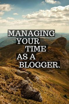 Time Management as a blogger can be a bit tricky, but it doesn't have to be with these tips! Check out how you can manage your time as a blogger for less stress and greater productivity! time management work from home time management time management work from home time management