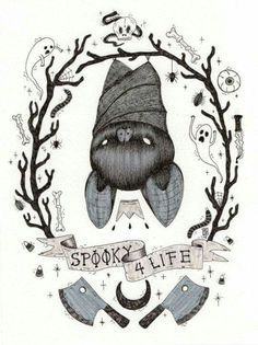 "Siames Escalante ""spooky for life"""