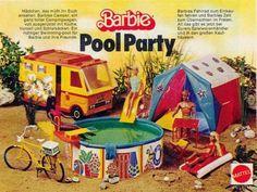 Barbie Camper, Play Barbie, Barbie Dream, Barbie House, Barbie 80s, Malibu Barbie, My Childhood Memories, Childhood Toys, Vintage Barbie Dolls