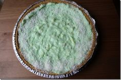 pistachio cool whip pie   Eat! All of it. Because I'm not Sandra Lee and I won't judge you.