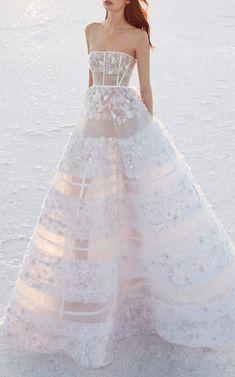Alex Perry Bride Harper Sheer Embellished Gown #dress #dresses #fashion #shopstyle #look #fashionideas #fashiontrends #mystyle #weddingdresses #fashionshopping