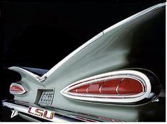 1959 Impala cat eyes tailend