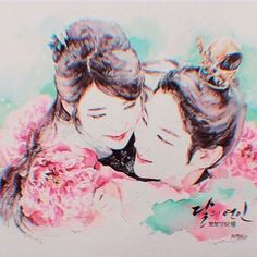 Dear King and Lady Haeso your journey together may not have an happy ending but the memories you both shared will always be cherished in our hearts.  Love is believing Love is sacrifice Love is eternity Love never gives up Love conquers it all.  #scarletheartryeo #moonlovers #iu #leejungi #tvn #kdrama #goryeodynasty #haesoo #4thprincewangso