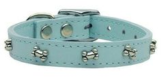 Bone Leather Collars in Assorted Colors