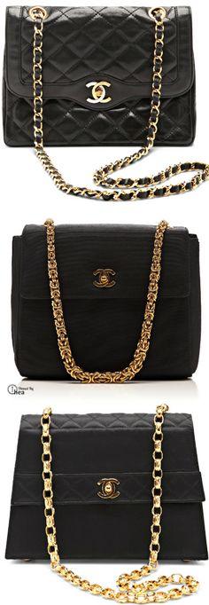 Chanel ● Vintage Black Bags