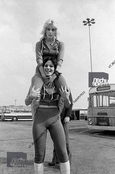 Runaways Joan Jett and Cherie Currie
