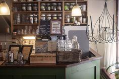 Kuvahaun tulos haulle kahvila tyylinen keittiö Finland, Liquor Cabinet, Storage, Furniture, Spaces, Home Decor, Historia, Purse Storage, Decoration Home