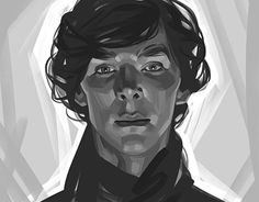 """Check out new work on my @Behance portfolio: """"Sherlock. A series of portraits."""" http://be.net/gallery/47549837/SherlockA-series-of-portraits"""