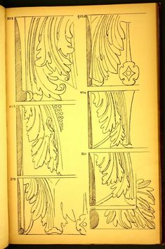 Mouldings by G & A. Brown.