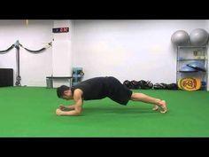 91.【筋トレ】1分間〜ながらトレーニング -Elbow Plank Pike Jacks-