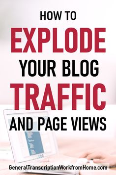 How to Explode Your Blog Traffic and Page Views. Pinterest is a powerful search engine that can get you a lot of traffic to your blog. Pinterest pinning is one of the quickest and best ways to get traffic to your blog today. #Pinterest #makemoneyblogging #Tailwind Make Money Blogging, How To Make Money, How To Get, Blog Topics, Work From Home Moms, Blogging For Beginners, Online Jobs, Making Ideas, How To Start A Blog