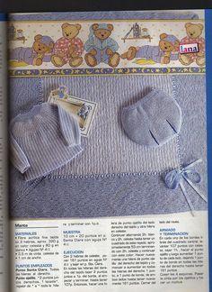 SOLO ROPITA DE BEBE EN PUNTO, GANCHILLO Y TELA (pág. 1521) | Aprender manualidades es facilisimo.com Baby Patterns, Crochet Patterns, Bebe Baby, Baby Socks, Baby Sweaters, Handmade Baby, Baby Booties, Baby Knitting, Baby Dress