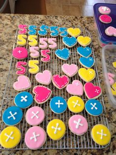 Button cookies for lalaloopsy birthday party.