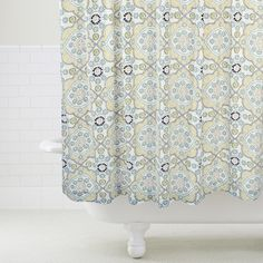 Mosaic Shower Curtain   World Market - $29.99