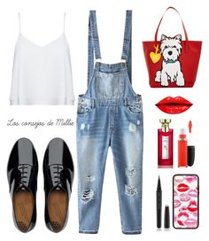 """""""Untitled #155"""" by maria-cecilia-gatti on Polyvore featuring Alice + Olivia, Relaxfeel, FitFlop, Marc Tetro, MAC Cosmetics, Bulgari, Marc Jacobs, women's clothing, women and female"""
