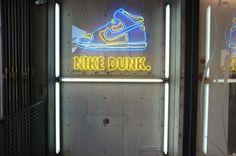 Tokyo Shopping, Sneaker Stores, Nike Dunks, Harajuku, Neon Signs, Windows, Ramen, Window