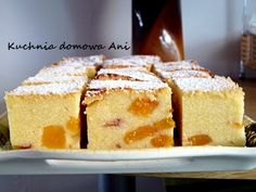 Polish Recipes, Polish Food, Cheesecakes, Cornbread, Vanilla Cake, Baking Recipes, Food And Drink, Sweets, Cookies