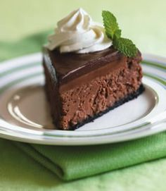 Chocolate cheese cake GF