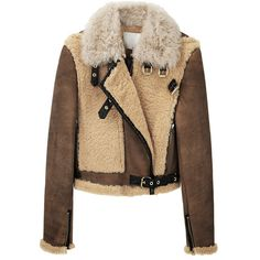 JC De Castelbajac for Iceberg Black/white wool sheepskin jacket ...