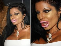 Horrible Makeup Fails