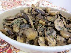 Steakhouse Sauteed Mushrooms