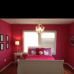 My daughters room....hello kitty