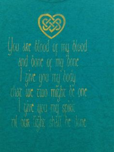 Hey, I found this really awesome Etsy listing at https://www.etsy.com/listing/206318803/outlander-wedding-vows-jamie-and-claire
