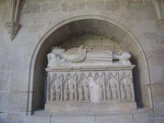 SEPULCRES , MONESTIR DE SANTES CREUS