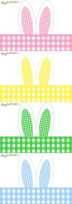 Easter Bunny Ear Napkin Wrap by Dimple Prints | Scribd