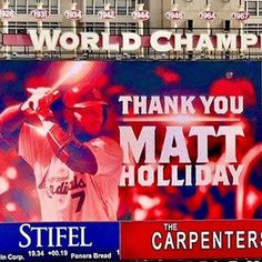 Matt Holliday coming up clutch again! #STLCards