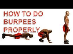 Pro Surf Training & Exercise - Burpees - How To Do a Perfect Burpee Burpees, Push Pull Legs Program, Gymnastics Workout, Excercise, Knee Injury, High Intensity Interval Training, Boost Your Metabolism, Get In Shape, Cellulite