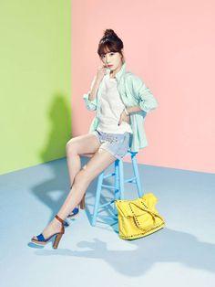 Kim Taeyeon of Girls' Generation #SNSD for fashion brand #Mixxo