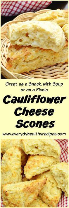 Cauliflower Cheese Scones