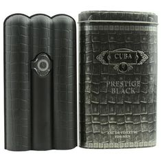 Cuba Prestige Black By Edt Spray 3 Oz