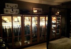 See-trought is the new walk-in  #visualmerchandising #vm #interior #design #wardrobe #closet #vintage #diy #detail #homesweethome #vm #markomargeta #mmlvm #fashion  #thesilentdialogue Marko Margeta   Visual Merchandising