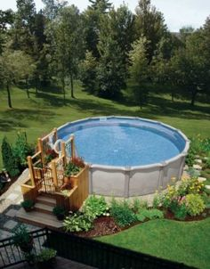 44 Best Pool Ideas Images Gardens Above Ground Pool Landscaping