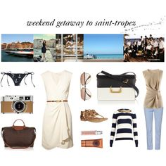 weekend getaway to saint-tropez Saint Tropez, Weekend Getaways, Longchamp, Christian Dior, Yves Saint Laurent, J Crew, Saints, Michael Kors, Eyewear