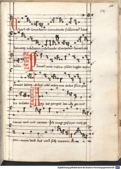 Cantionale, Geistliche Lieder mit Melodien. Münchner Marienklage Tegernsee, 3. Drittel 15. Jh. Cgm 716  Folio 150