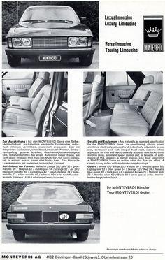 Auto Brochure  Monteverdi