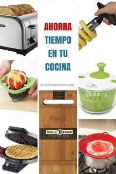 10 accesorios con los que estamos seguros podrás ahorrar tiempo en la cocina para que de esa forma puedas tener tiempo extra para hacer otras cosas o sencillamente para sentarte a tomar un café :)