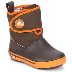 Crocband II.5 Gust Boot Kids Espresso / Orange
