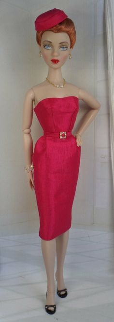 Villefranche for Gene Marshall and her friends 16 inch fashion dolls OOAK Fashion