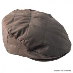 Heather Hats Wicklow Quilted Flat Cap - Black Extremely comfortable lightweight nylon quilted flat cap with a contrasting quilted nylon lining