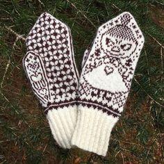 Knitted Mittens Pattern, Knit Mittens, Knitted Gloves, Knitting Socks, Free Knitting, Baby Knitting, Beginner Knitting Patterns, Fingerless Mittens, Fair Isle Knitting