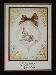 Sandma's Handmade Cards: Last of the Christmas samples for now