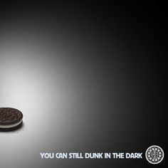 Oreo Super Bowl power outage ad http://marketingexamples.net/oreo-super-bowl-power-outage-ad/